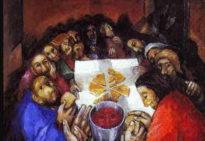 La santa messa che cosa filia ecclesiae for Vero cibo e il tuo corpo testo