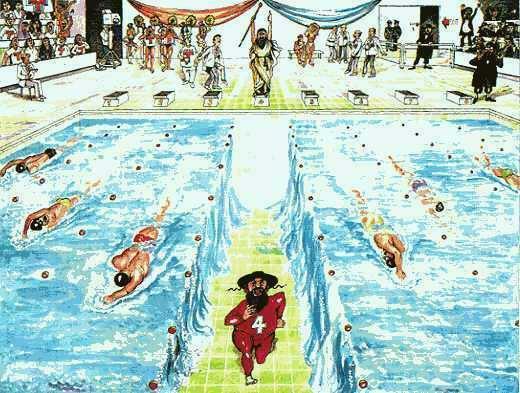 Mosè e le Olimpiadi