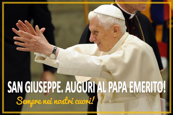 Grazie, Benedetto XVI, sei un grande!