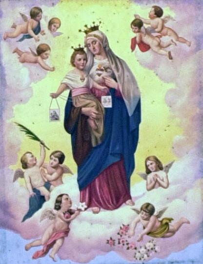 Scapulaire de l'Immaculée Conception